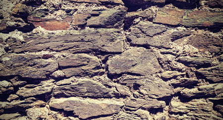 grungy: Old grungy stone wall background. Stock Photo