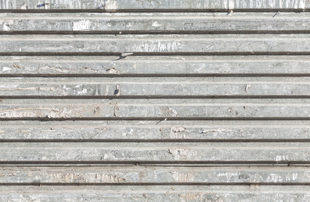 corrugated metal: Grunge corrugated metal texture, abstract industrial background. Stock Photo