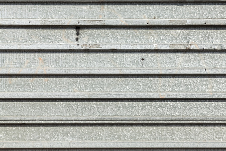 corrugated metal: Grunge corrugated metal wall, abstract industrial background.