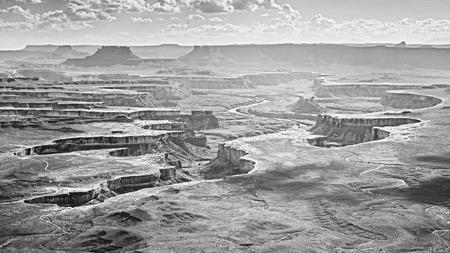 monochromatic: Monochromatic photo of Canyonlands National Park, Utah, USA