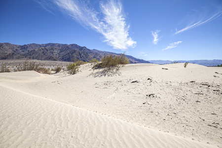 stovepipe: Sand dunes in Death Valley National Park, Stovepipe Wells, California, USA. Stock Photo
