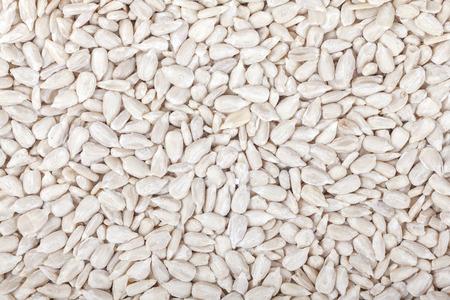 semillas de girasol: Cierre de imagen de semillas de girasol, fondo de alimentos.