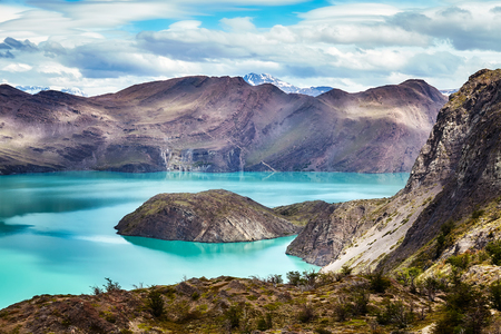 Torres del Paine National Park, Patagonia, Chile. Standard-Bild