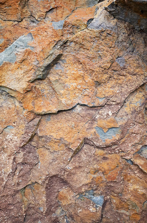 Close up picture of a rock surface, natural background or texture. Stockfoto - 123161967