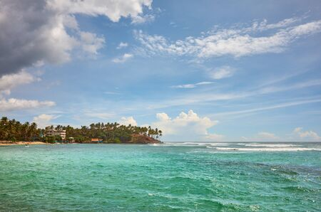 Tropical island, summer vacation concept, Sri Lanka.