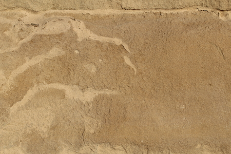 Weathered surface on a decorative stone