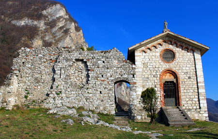 Small chapel in a castle (Innominated castle)