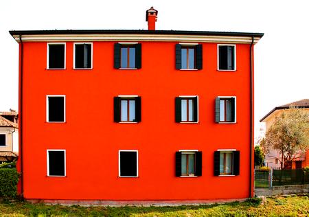 New italian typical house (venetian style) Reklamní fotografie