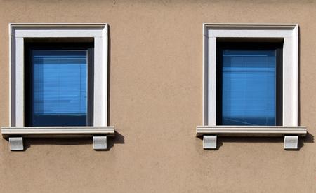 Modern glass windows on a building facade Reklamní fotografie - 96730990
