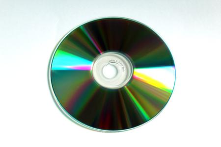 CD compact disc (back side) Archivio Fotografico