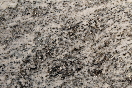 Metamorphic rock used as decorative stone with shiny minerals (mica) Stock Photo