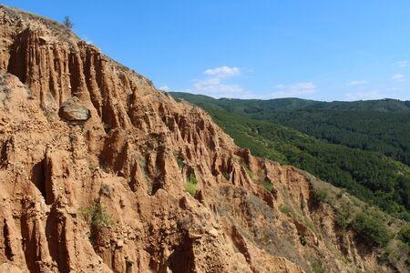 Earths pyramids natural formation near Stob (Bulgaria) Zdjęcie Seryjne