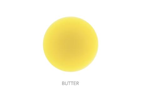 butterfat: Food round bal ingredients minimalist butter clean