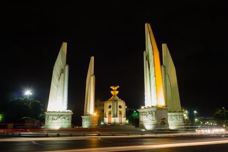 democracy Monument: Democracy Monument thailand night