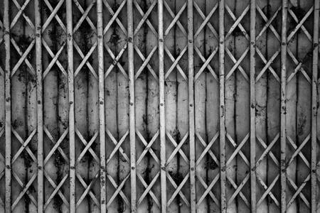 old metallic entrance photo