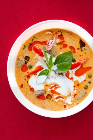 Thai food , Tom kha gai soup Stock Photo - 9997376