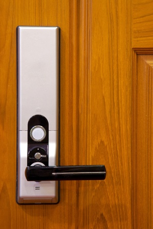Door handle electronic lock  photo