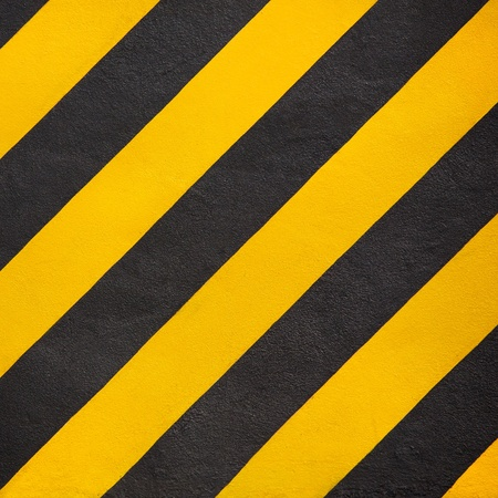 Hazard stripes. photo