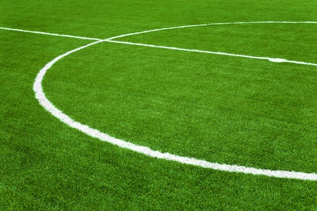 Soccer field ,Football field or baseball field photo