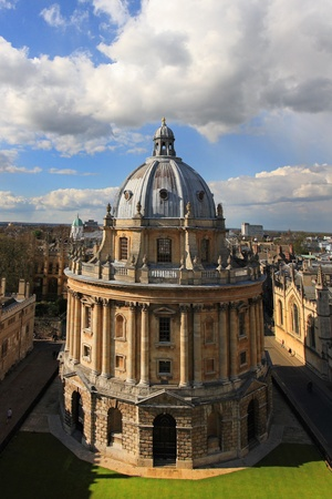 the radcliffe camera, Bodleian library, oxford university  Stock Photo