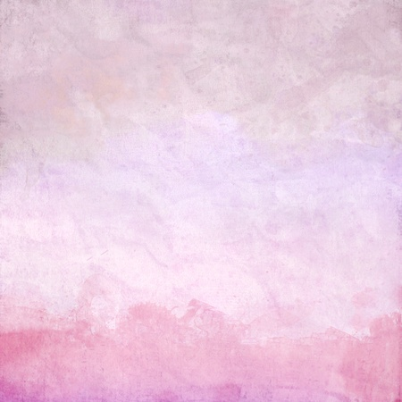 Water color on old paper texture background for your love on valentine day Stock Photo