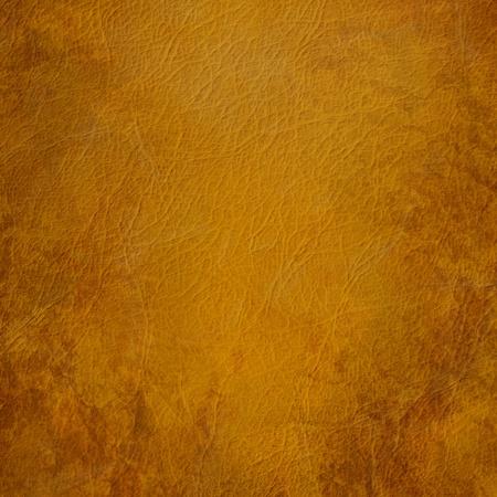 cuero vaca: Grunge de cuero marrón de fondo Foto de archivo