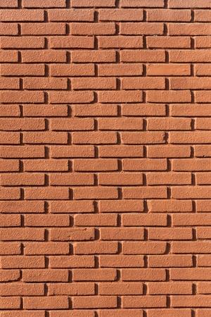Mur de brique rouge de texture Banque d'images