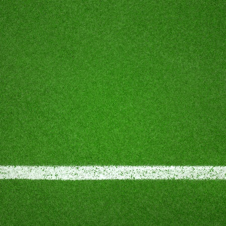 Paddle tennis green hard court texture  with white line can use as soccer or badminton background