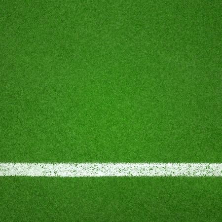 Paddle texture verte court en dur avec une ligne blanche peut utiliser comme arri�re-plan de soccer ou de badminton Banque d'images