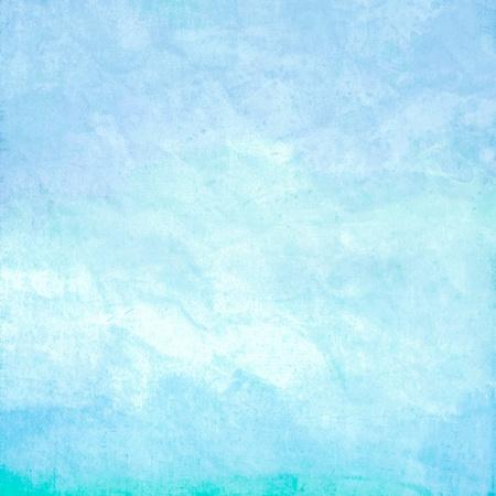 Couleur de l'eau comme le ciel, la mer ou l'oc�an sur fond de papier texture vieux Banque d'images