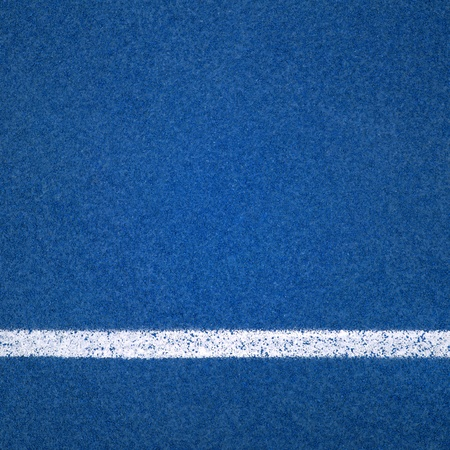Blue Running track rubber cover