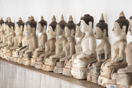 Buddha Statues Stacked Stock Photo - 16431494