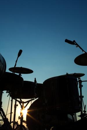 tambor: Tambor en silueta