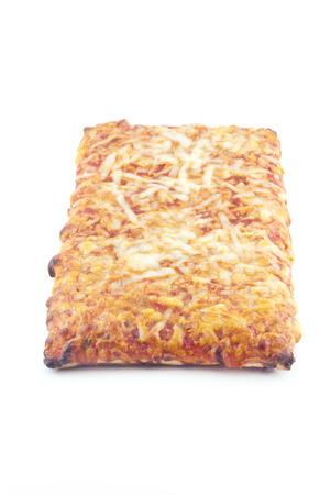 Nostalgic slice of pizza just like in grade school