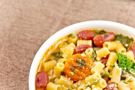 favorite soup: Everyones favorite Italian bean soup dish Pasta Fagioli