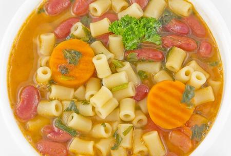 favorite soup: Everyones favorite Italian bean soup, pasta Fagioli