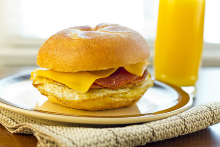 taylor: Taylor ham, pork roll, egg and cheese breakfast sandwich on a kaiser roll from New Jersey