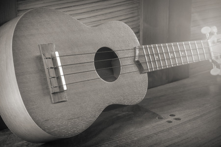 stringed instrument: Soprano Ukelele an exotic wooden stringed instrument of the Hawaiian Islands