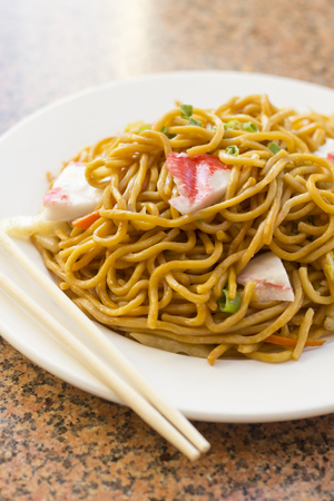 lo mein: Delicious chinese food, Lobster Lo Mein stir fry
