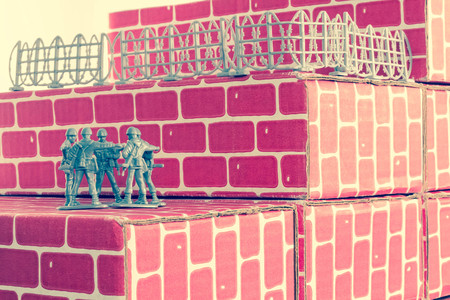 longshot: Gray toy army men up against impossible odds in uphill battle
