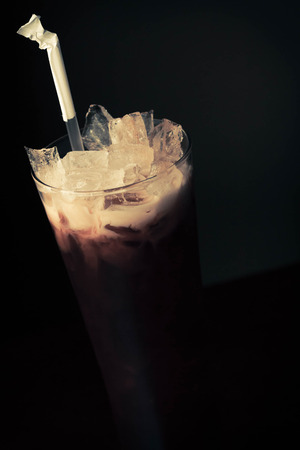 refreshes: This creamy exotic beverage cools and refreshes the palate with subtle hints of sweet vanilla