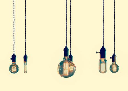 edison: Decorative antique edison style filament light bulbs