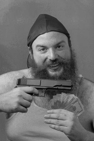 hoodlum: Friendly gangster with money and gun