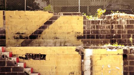 demolish: demolished building