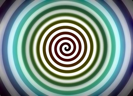 hypnotize: Psychedelic hypnosis swirl background optical illusion illustration