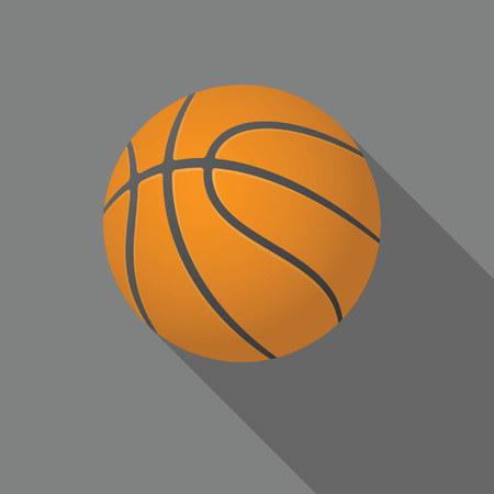 Basketball. .Vector EPS 8 version of the file is fully editable. Illustration
