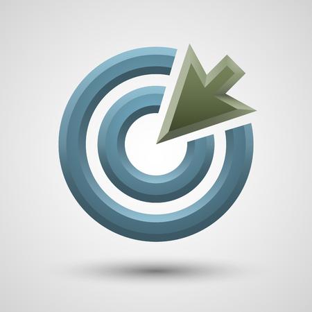 target arrow: Target arrow icon.