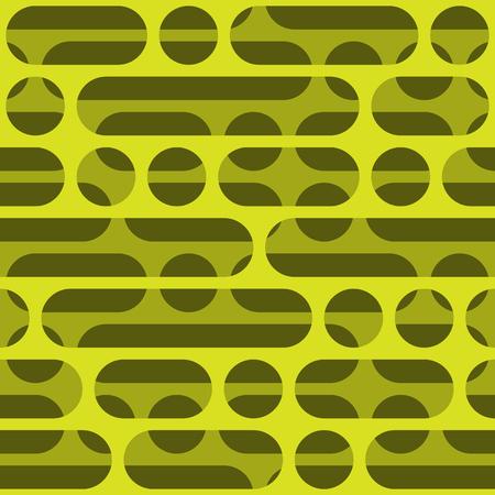 Circles and ovals seamless geometric pattern. Stockfoto - 133905619