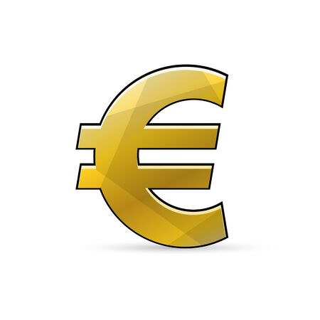 Euro sign. Currency icon.