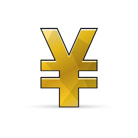 Yen or Yuan sign. �¡urrency icon.  Stock Illustratie